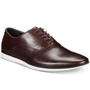 Bar III Men's Warner Casual Smooth Lace-Up Oxford,